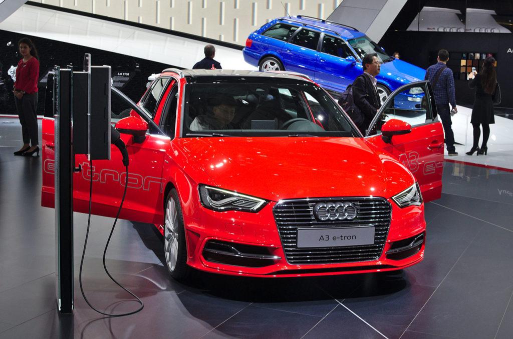 piccy of Audi A3 e-tron